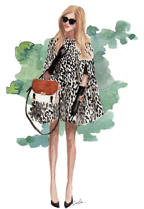 How to style leopard print.
