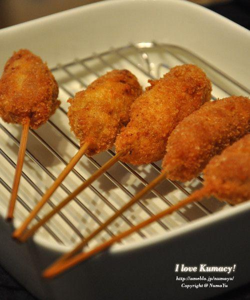 お家で本格楽しい串カツ(串揚げ) by NumaYuu [クックパッド] 簡単おいしいみんなのレシピが222万品