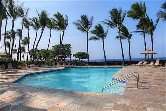 Royal Sea Cliff Club Pool - Kona, Hawaii