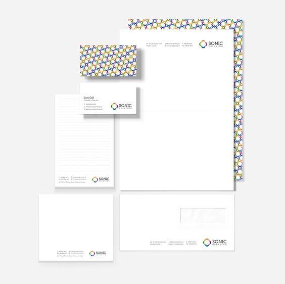 Sonic - Business Card Design Inspiration | Card Nerd.