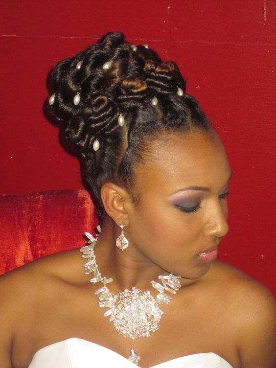Stupendous Flat Twist Updo Flat Twist And Twist Updo On Pinterest Hairstyle Inspiration Daily Dogsangcom