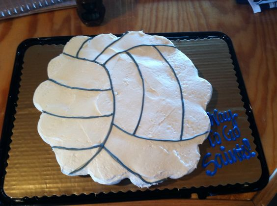 Volleyball cupcakes, Cupcake cakes and Volleyball on Pinterest