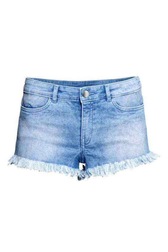 Pantalón corto vaquero | H&M