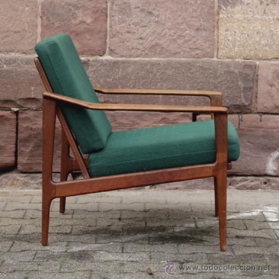 Silla con brazos de dise o escandinavo 1960 1965 for Sillas diseno escandinavo