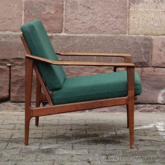 Silla con brazos de dise o escandinavo 1960 1965 - Sillones vintage retro ...