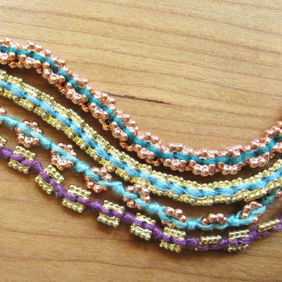 Thread bracelets crafts and beads on pinterest
