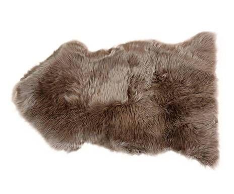 Alfombras y cojines de pelo piel de oveja topo 60x90 pieles pinterest - Alfombra oveja ...