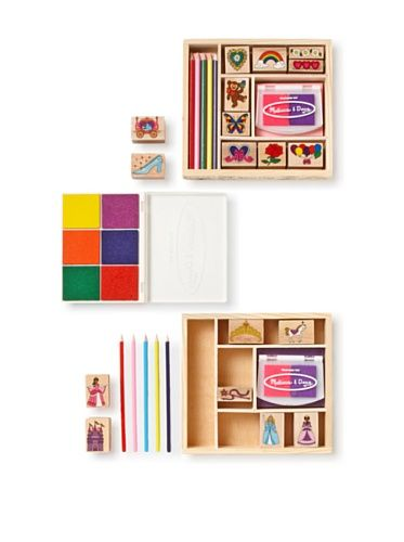 Melissa & Doug  Friendship/Princess Stamp Set