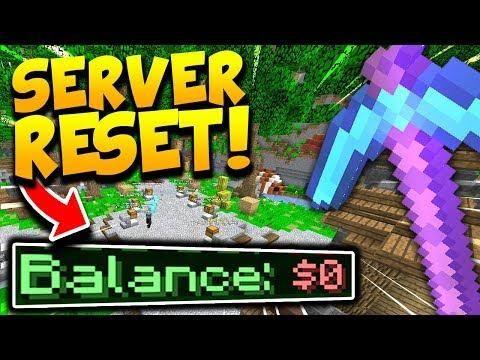 The Server Has Reset Minecraft Op Prisons Bytemc 23 Server Minecraft