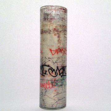 graffiti candle