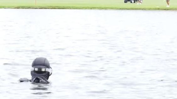 This man says he made $15 million diving for golf balls
