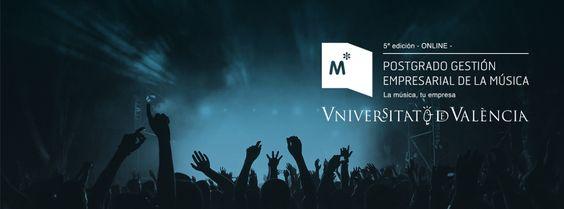 Abierta matrícula para el Postgrado en Gestión Empresarial de la Música (UV). 5ª ed