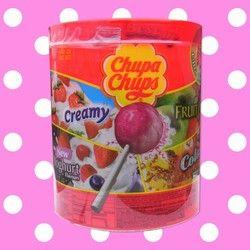 Chupa Chups - Chupa Chups  Chupa Chups Drum of 50 lollies @ £7.49