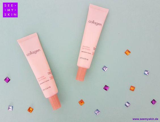 Entdecke die *Collagen Nutrition Eye Cream* von IT'S SKIN für ein strahlendes…