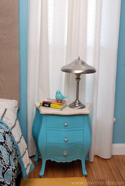 antique nightstand revamp