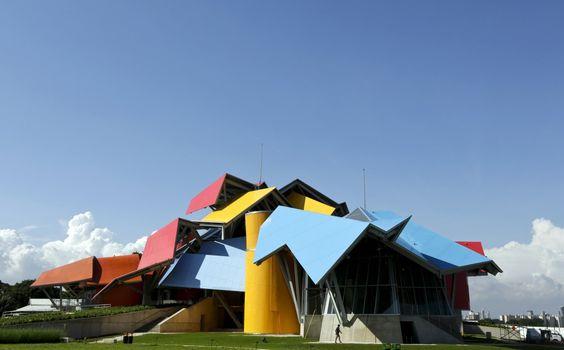 Museo de la Biodiversidad, Panamá. Arq. Frank Gehry.