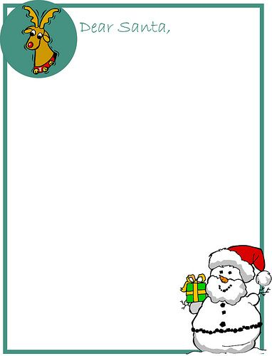 Printable Pictures Of Santa Claus  Free Printable Letter To Santa