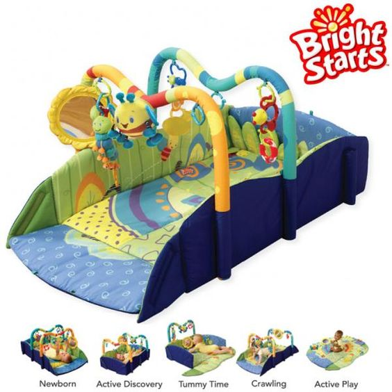Baby's Play Place by Bright Starts - a top rated activity gym mat.