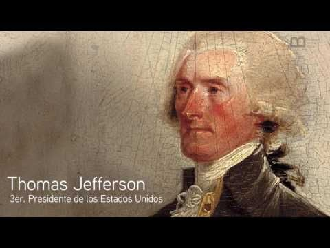 Insignia Pin del presidente Thomas Jefferson