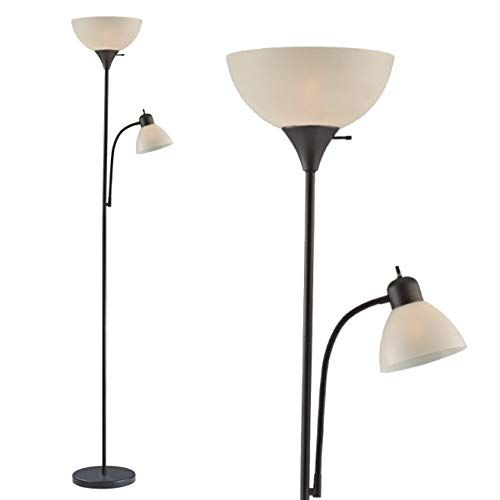 Adjule Floor Lamp With Reading