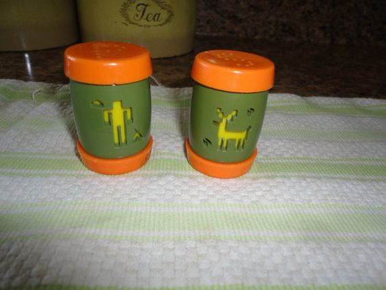 Salt And Pepper Shakers St. Labre School Ashland by TammysFindings