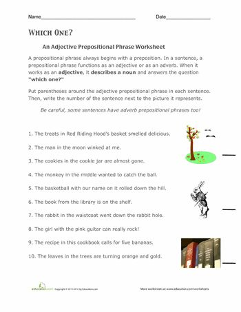 prepositional phrases worksheets and articles on pinterest. Black Bedroom Furniture Sets. Home Design Ideas
