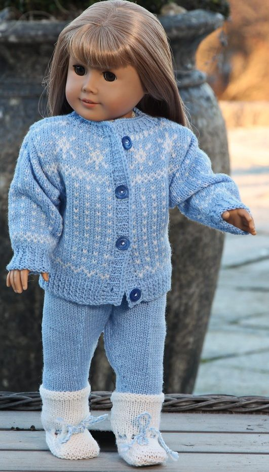 Knitting Pattern For Dolls Trousers : PALL - Knitting pattern for sale Design: Malfrid Gausel American Girl Dolls...
