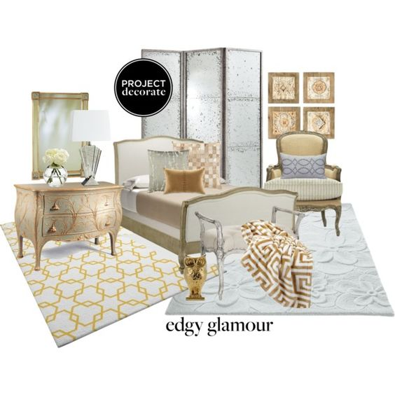 Project decorate edgy bedroom glamour edgy bedroom for Edgy bedroom ideas