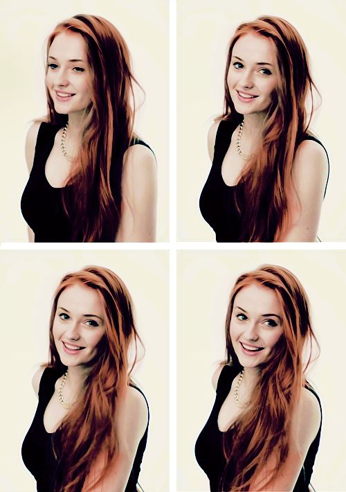 If they let her Sansa wear her hair loose, Sophie Turner would win the crown with her beauty in under a week.