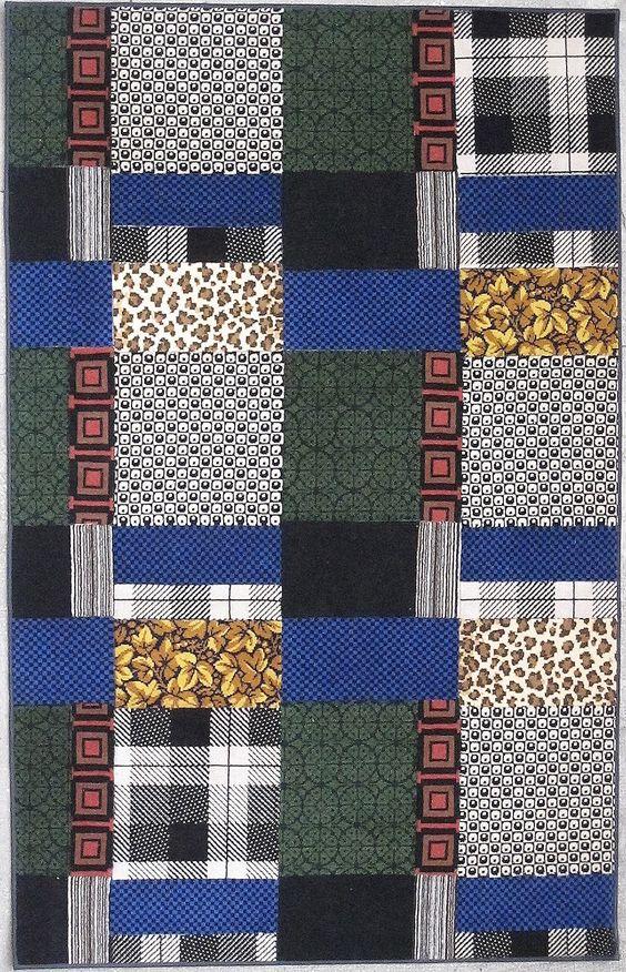 """art&craft tapis rug carpet patchwork french Paris création  pièce unique descente de lit tapis de couloir pure laine wool  Carpet """"Textile 1"""" quality craftsmanship handicraft"""