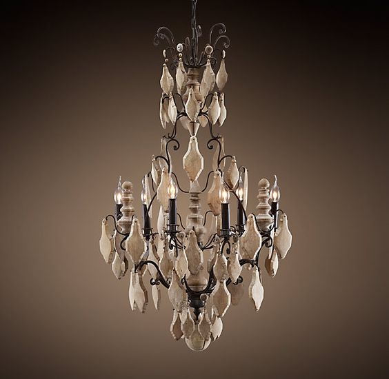 Pottery Barn Harlowe Pendant: Versailles, Chandeliers And Woods On Pinterest
