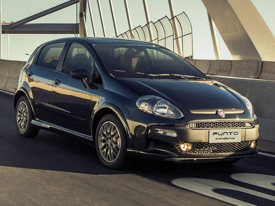 carro novo: Fiat Punto Blackmotion 2014