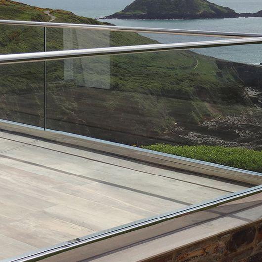 The Deck House Choo Gim Wah Architect Glass Railing System Glass Railing Laminated Glass