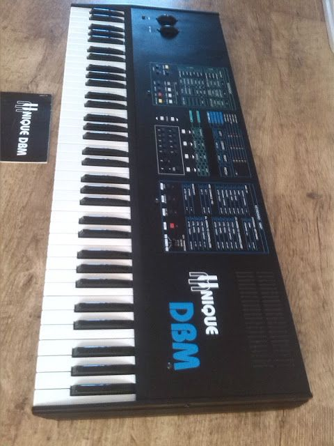 MATRIXSYNTH: Crumar Unique DBM MIDI Controller SN 00804