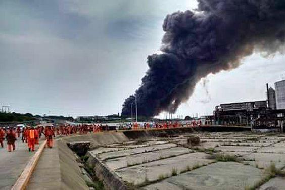"""PROCESO: """"VI COMO VOLABAN LOS CUERPOS"""": SOBREVIVIENTE DE LA EXPLOSION EN PAJARITOS.None"""
