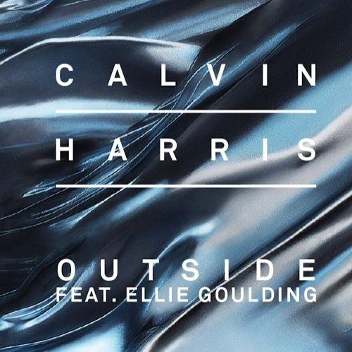 Calvin Harris, Ellie Goulding – Outside (single cover art)