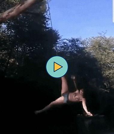 O Tarzan foi pego por sua própria corda