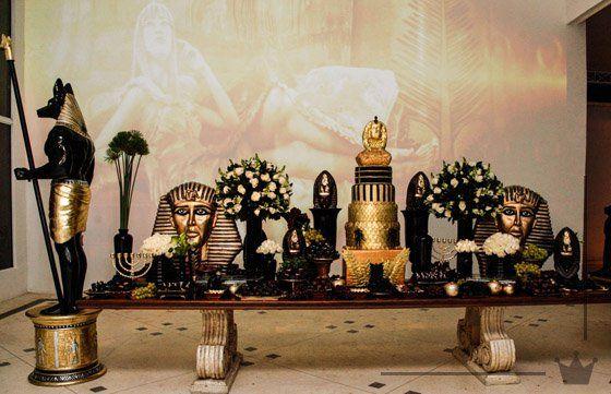 Mesa de doces. Festa Egípcia! #egyptianparty