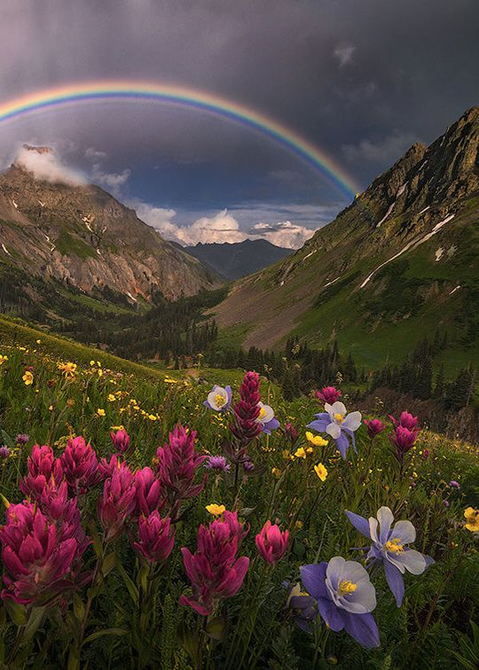 Enantiodromija Mountain Sanctuary By Candace Dyar Travel Pinterest Rainbows Scenery And Landscaping