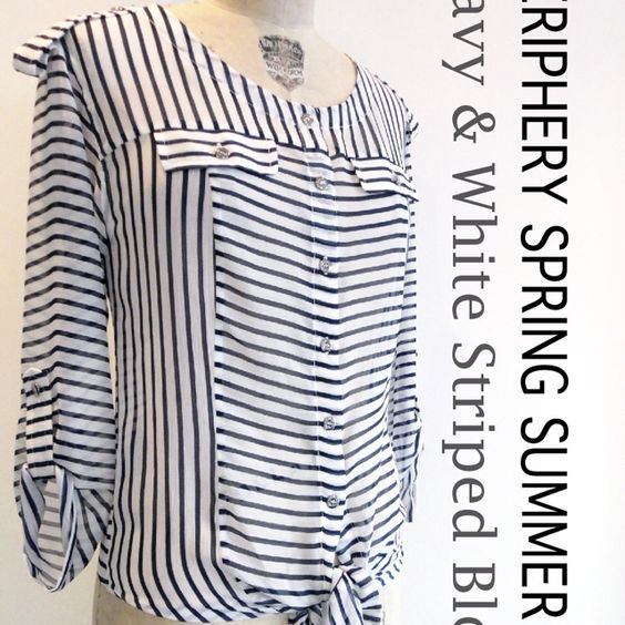 Periphery Spring Summer 2012 Striped Blouse
