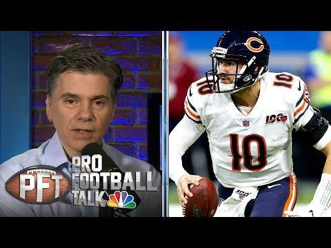 State Of Franchise All Eyes On Chicago Bears Qb Battle Pro Football Talk Nbc Sports Head Coach Matt Nagy Says The Bea In 2020 Football Talk Football Sports Head