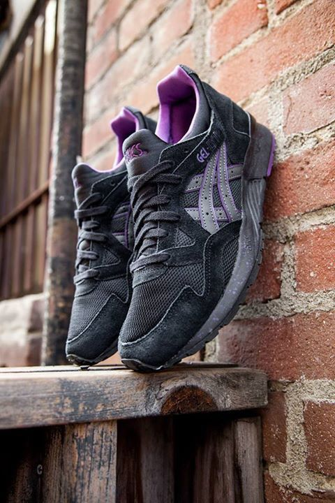 Asics Gel Lyte V Black Purple