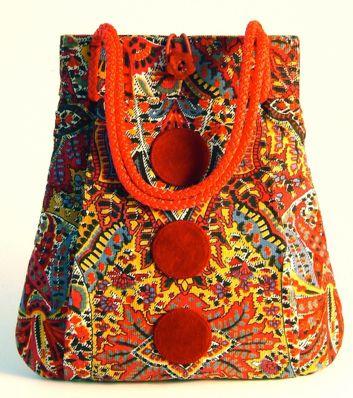 fun handmade purses   Julia Beehag unique handmade handbags and accessories Trapezium Bags