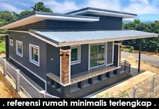 Desain Rumah Minimalis Atap Miring Dengan Dana 100 Jutaan Rumah Minimalis Rumah Desain Rumah