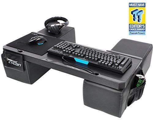 Couchmaster Cycon Black Edition Amazon De Computer Zubehor Schosstisch Gaming Konsole