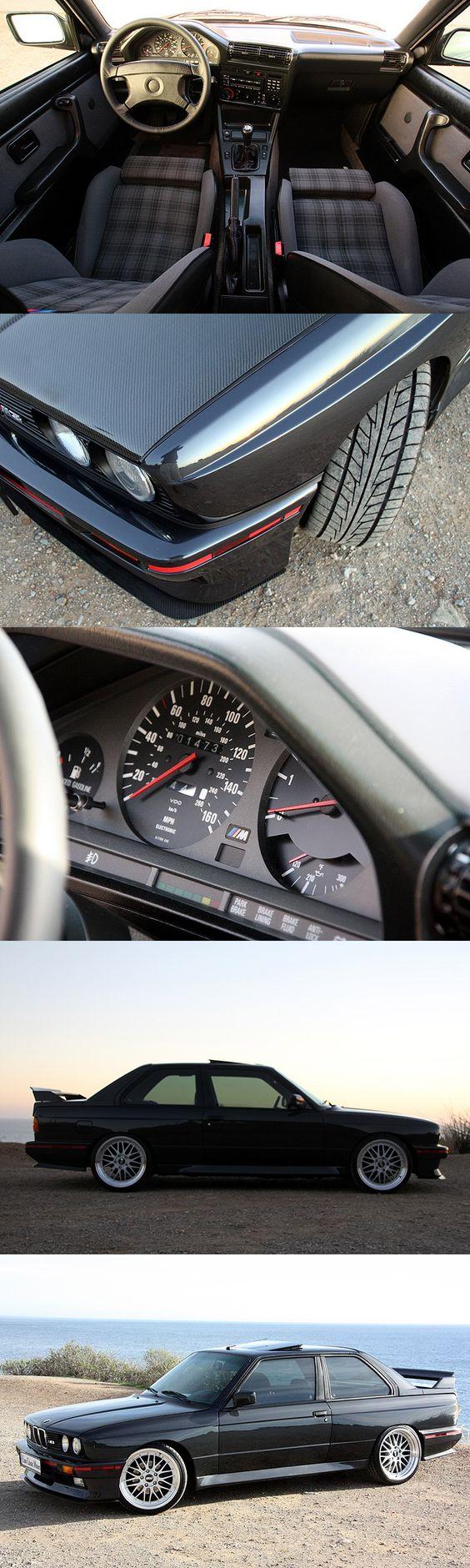 1990 e30 M3 Diamond Black, fully restored including an S38 engine swap, Sport Evo cloth interior