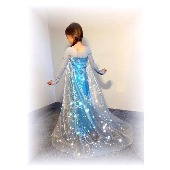 SALE regularly 12.99 Modest Elsa inspired gown by christennoelle