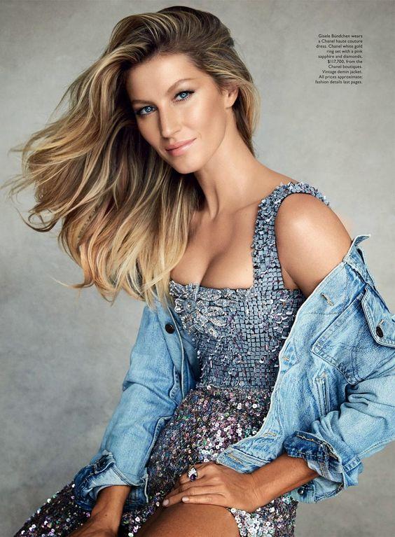 Smartologie: Gisele Bundchen for Vogue Australia January 2015
