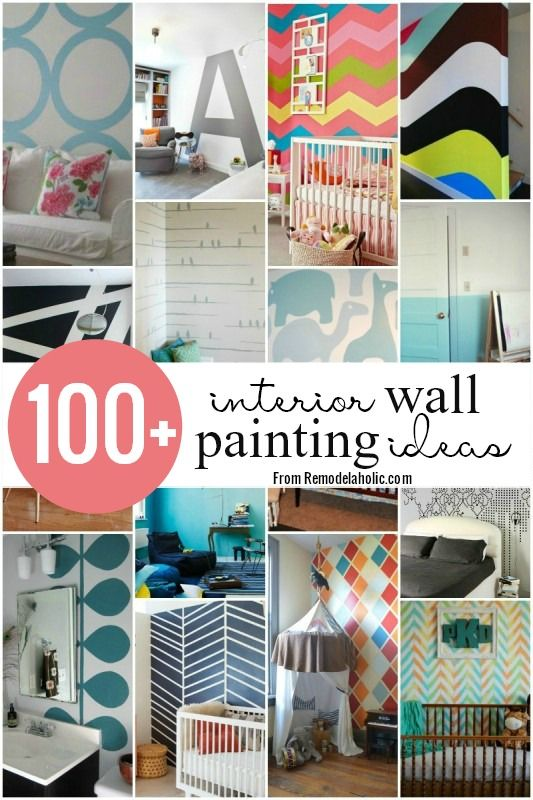 100 Wall Painting Ideas Remodelaholic Painting Walls Design