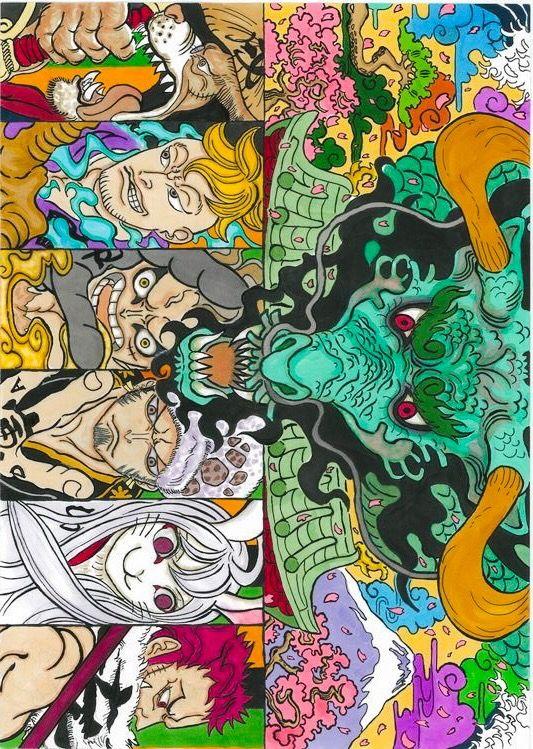 Wano Onepiece One Piece Anime Anime One Devian Art